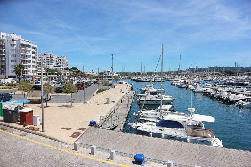 Порт в Ибице