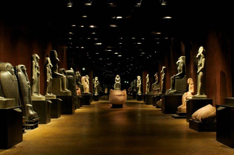 Зал эпохи Нового царства в Каирском музее