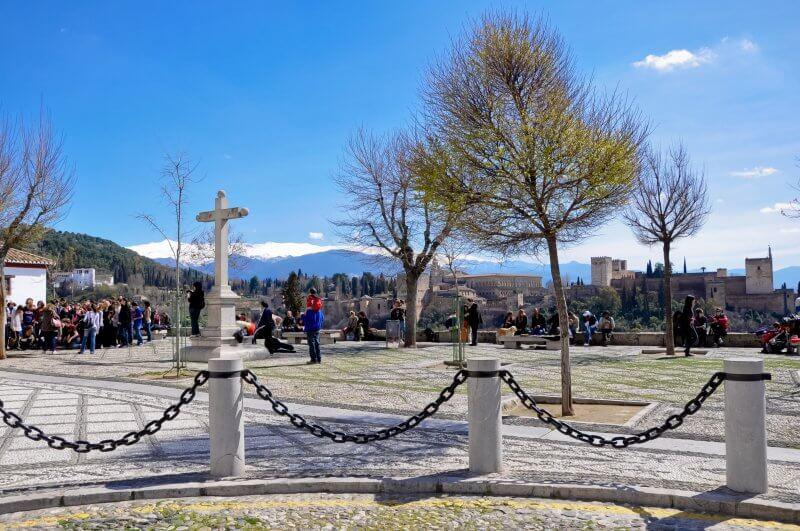 Площадь и мирадор Сан-Николас