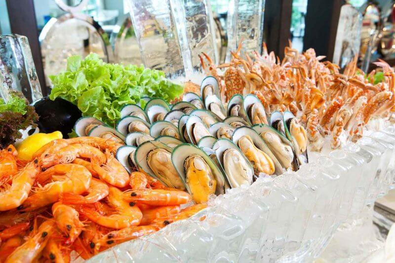 Испанские морепродукты