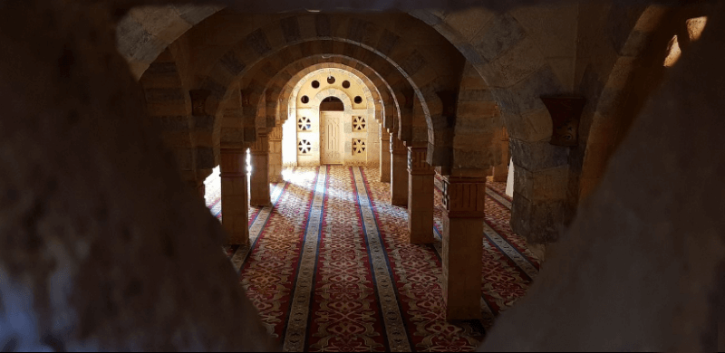 Мечеть Мустафа внутри
