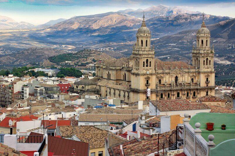 Город Хаэн в Андалусии