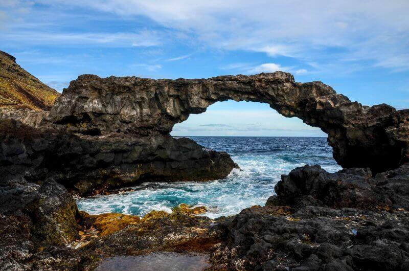 Вид на остров Иерро