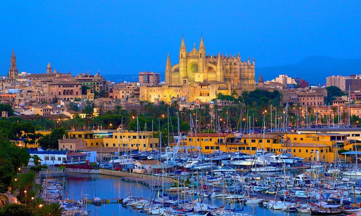 Обои Испания, Пальма-де-Майорка, дома, бухта. Города foto 9