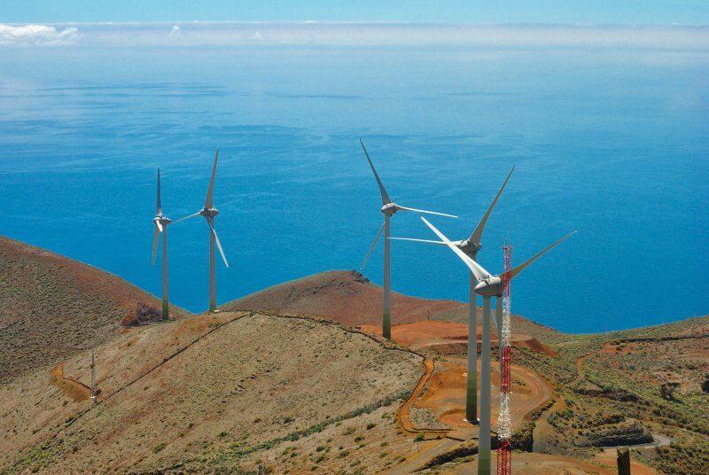 Ветрогидравлическая электростанция