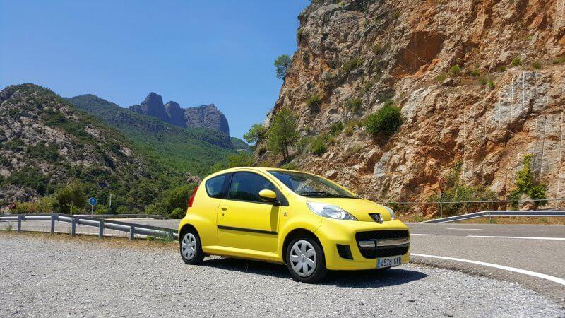 Машина в Каталонии