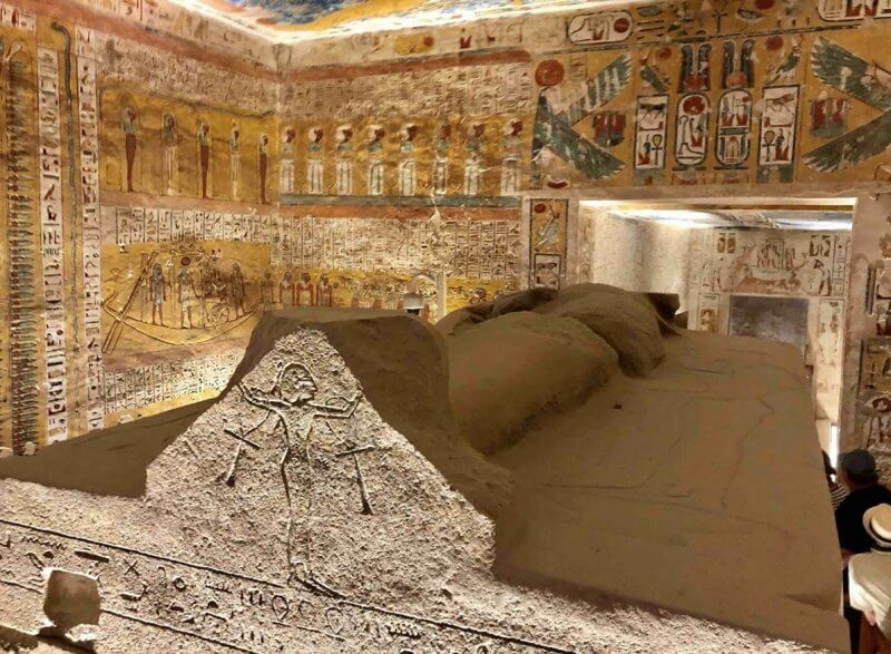 Саркофаг в Долине Царей