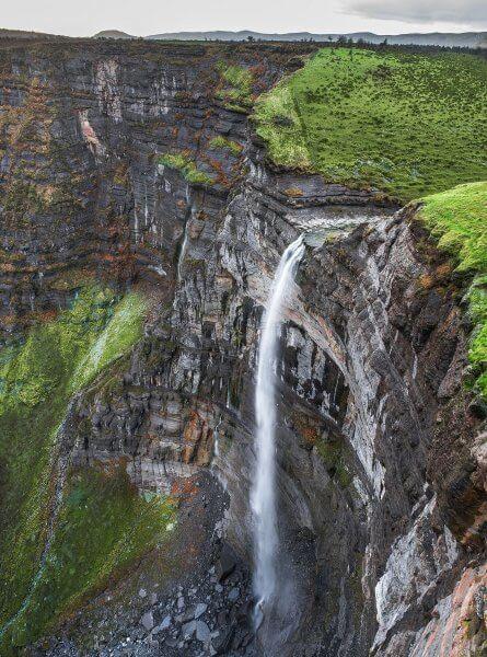 Водопад в Каньон Делика