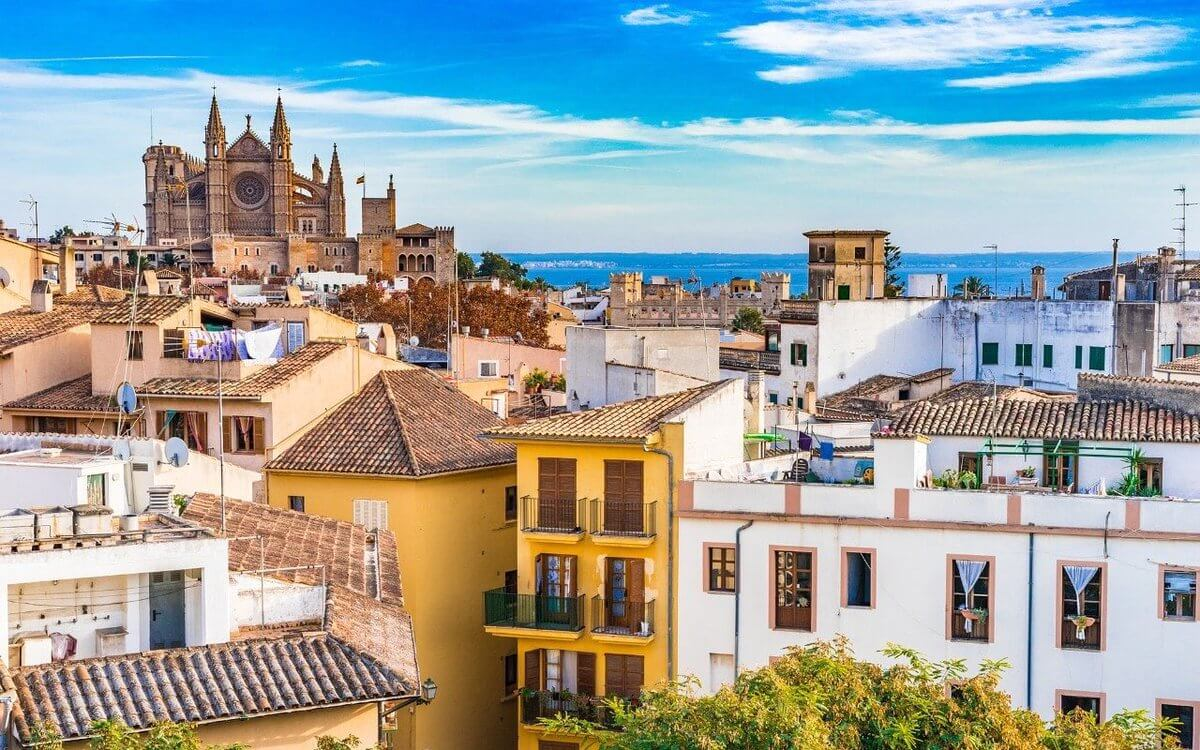 Обои Испания, Пальма-де-Майорка, дома, бухта. Города foto 8