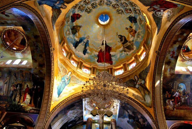 Купол в Коптской церкви