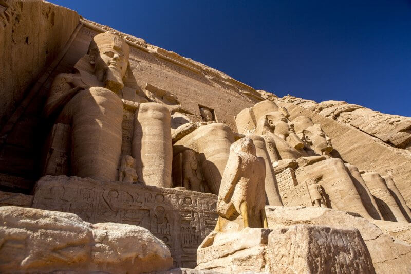 Статуи храма Абу-Симбел
