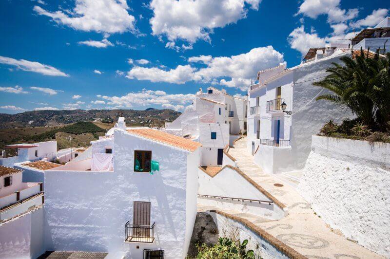 Белые деревушки Андалусии