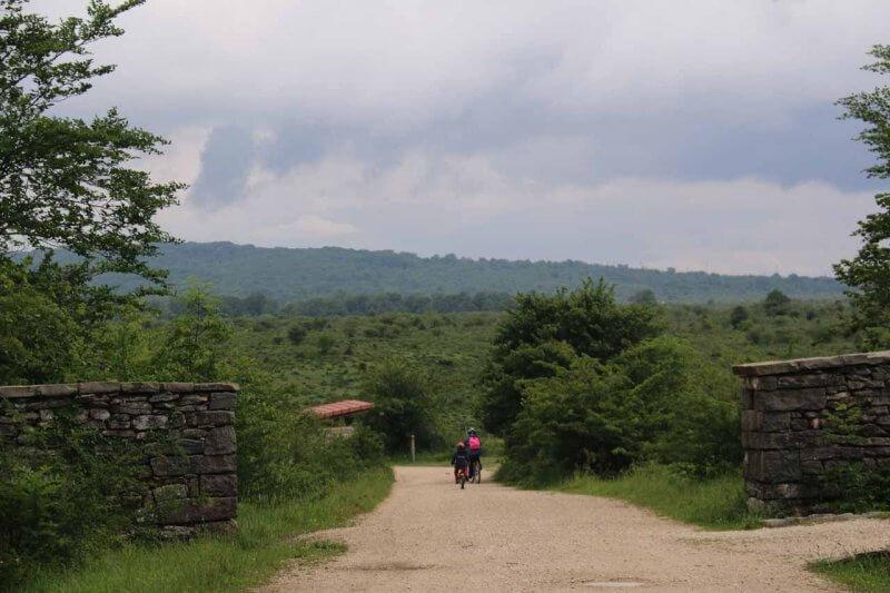 Дорога в Каньон Делика
