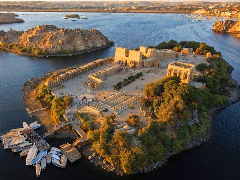 Храмовый комплекс на остров Филе