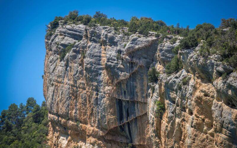 Скала около ущелья Монт Ребей