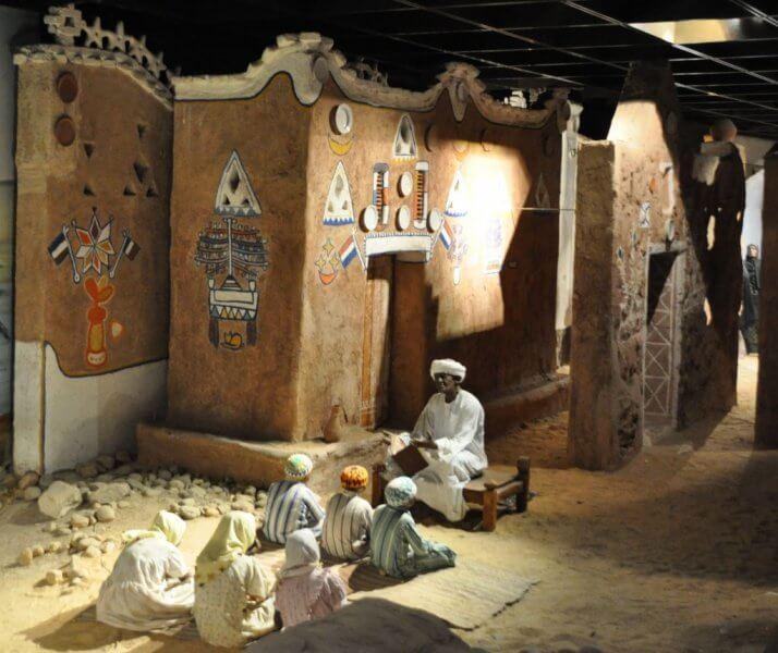 Нубийский музей внутри
