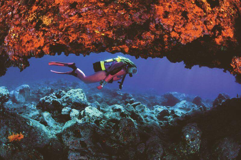 Дайвинг на острове Иерро