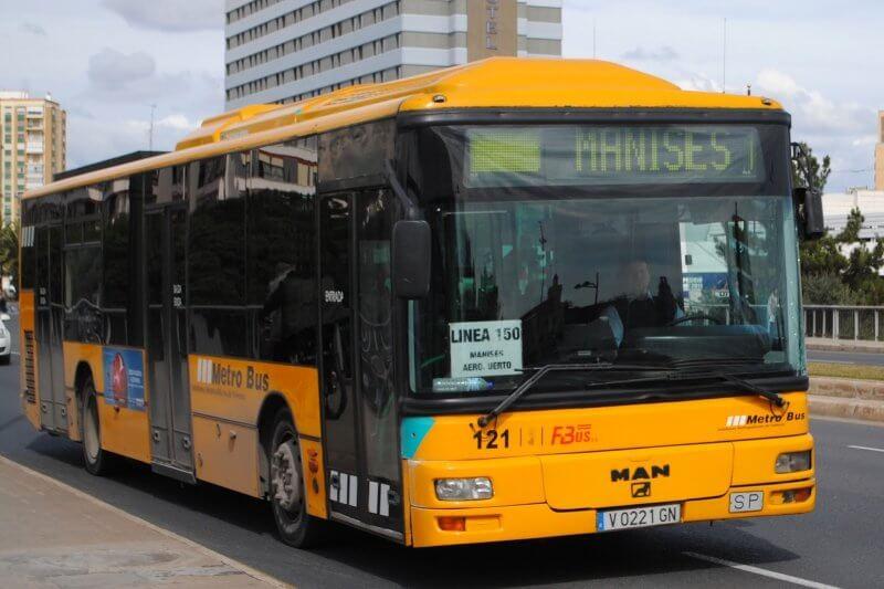 Metro-Bus в Валенсии
