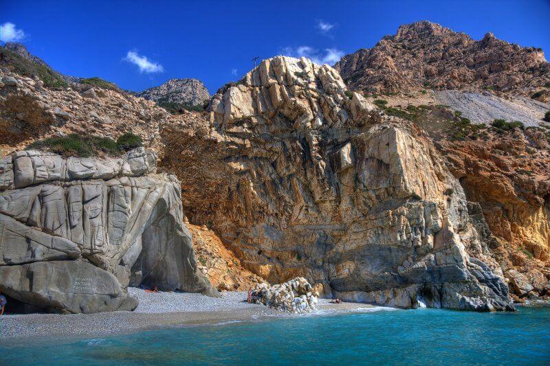 Вид на остров Икария