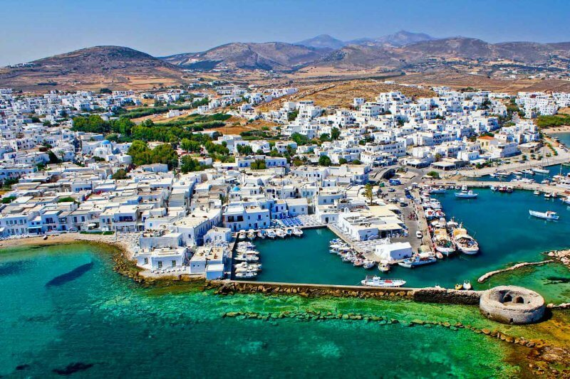 Парос в Греции