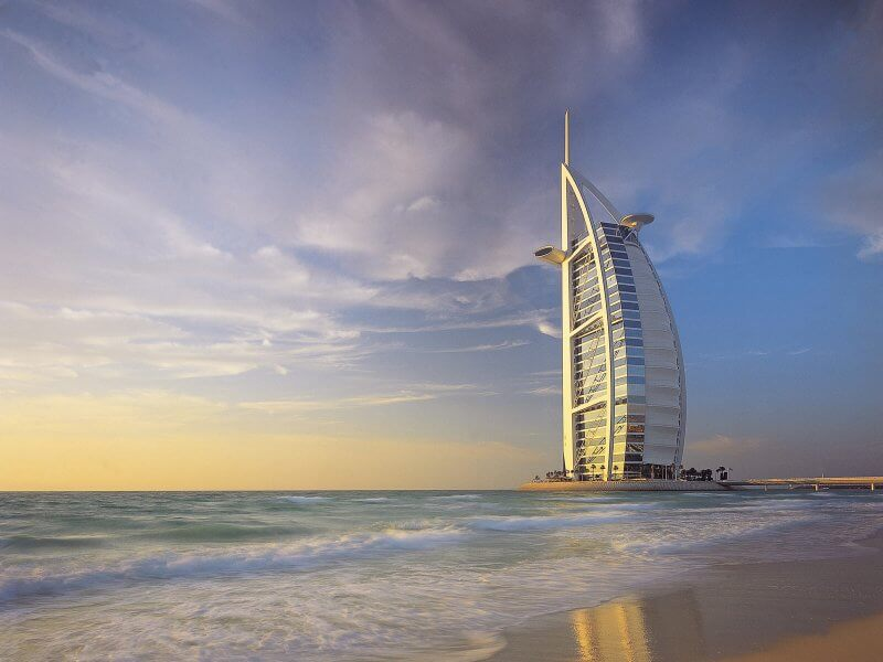 Дубай в ОАЭ