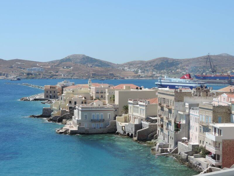 Улицы острова Наксос