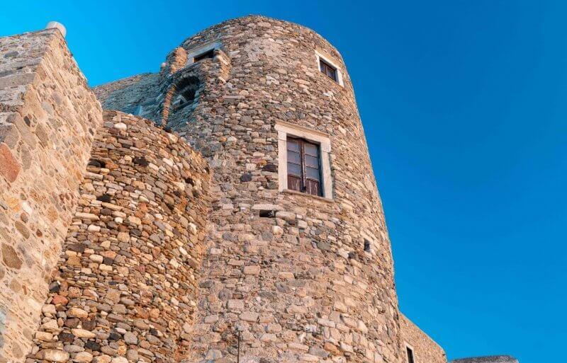 Крепость в Наксосе