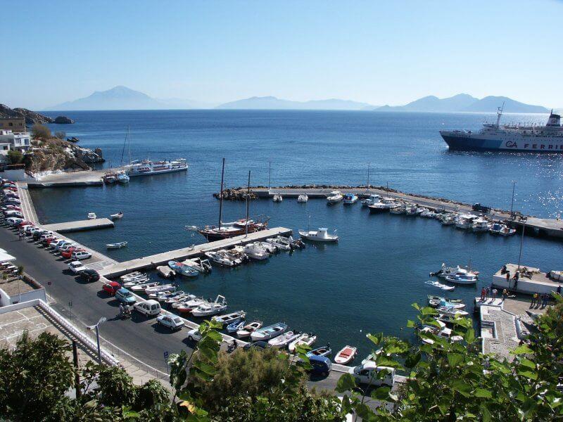 Порт в Агиос Кирикос