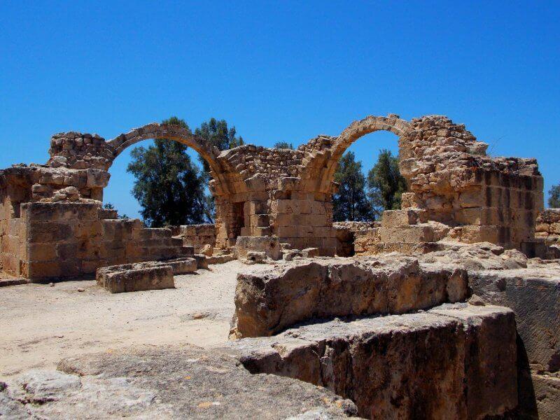 Руины в Археологическом парке Като-Пафос