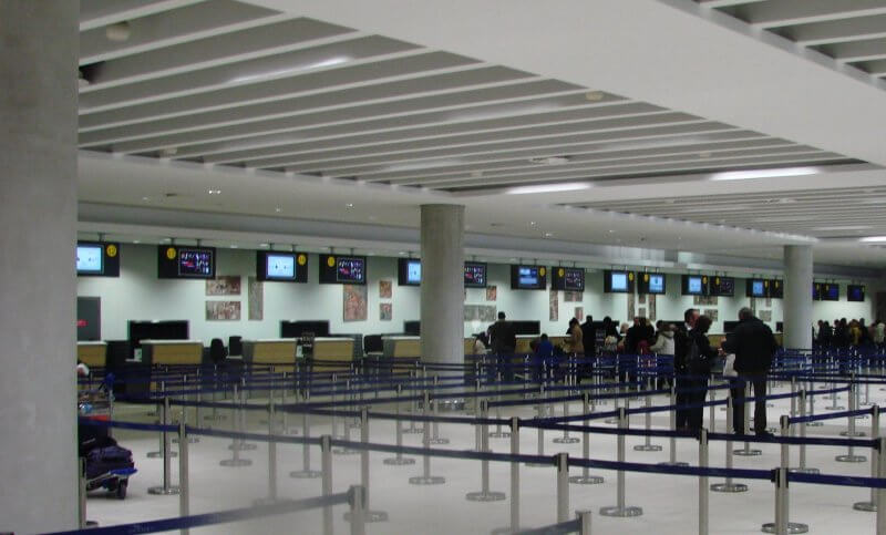 Аэропорт на курорте Пафос