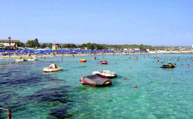 Вид на пляж Ланда Бич