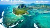 Подводный водопад на Маврикии – уникальный феномен