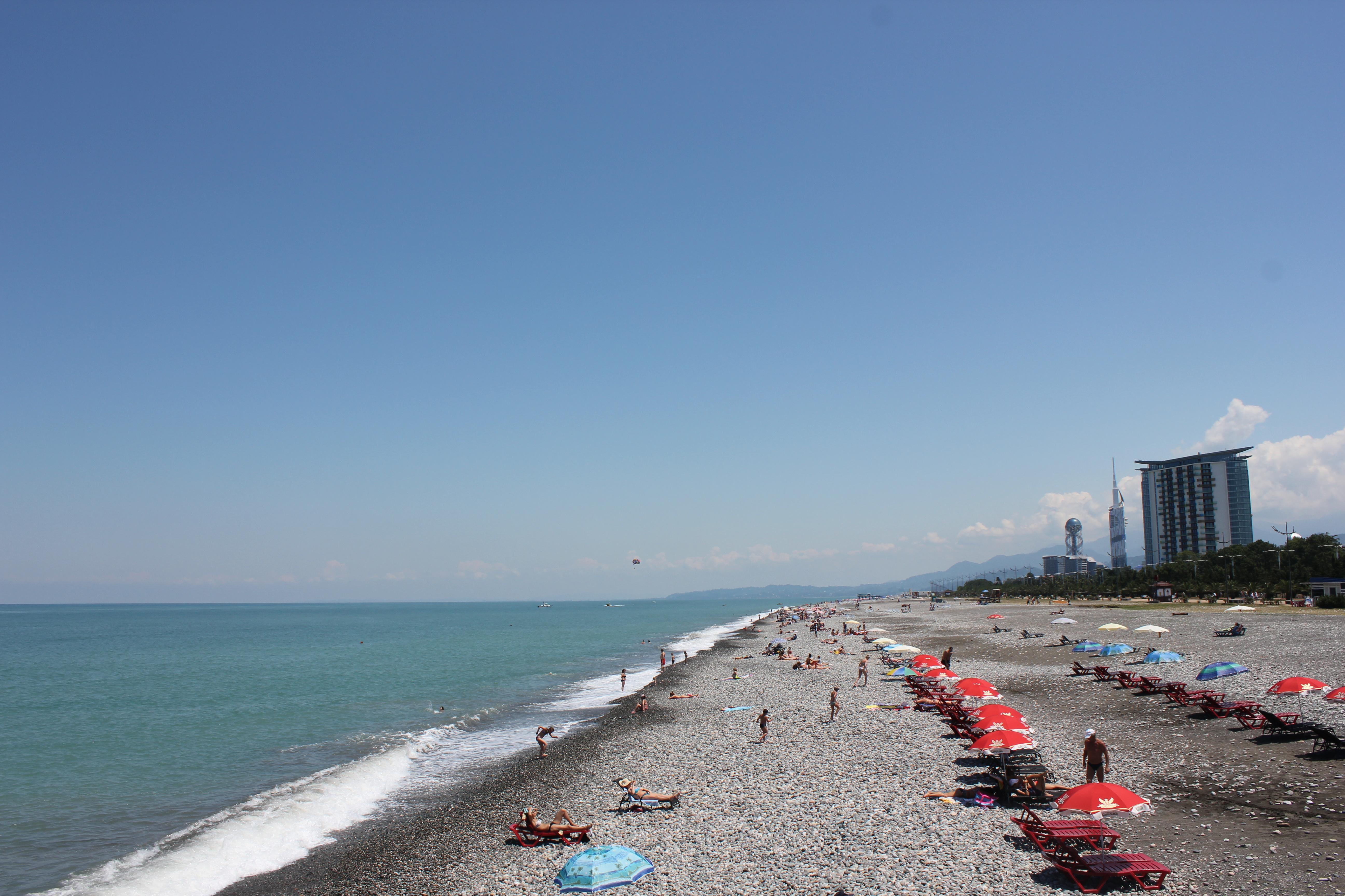 Пляж в батуми фото и отзывы