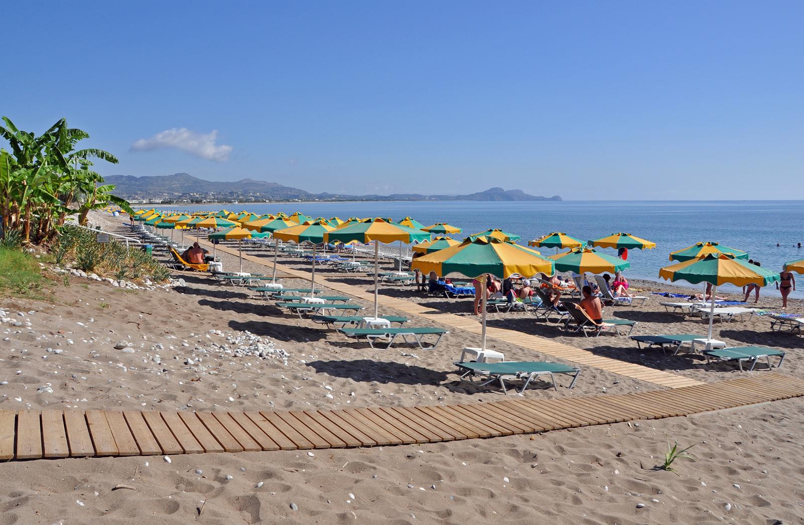 Пляжи родоса фото туристов